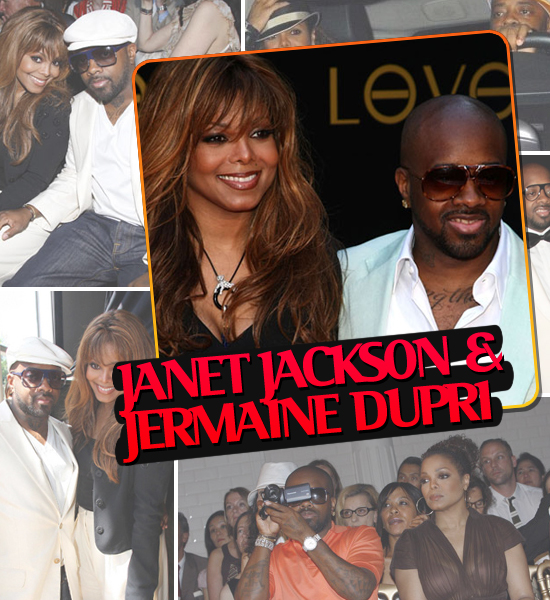 HOTTEST COUPLES OF 2008 - JANET JACKSON & JERMAINE DUPRI