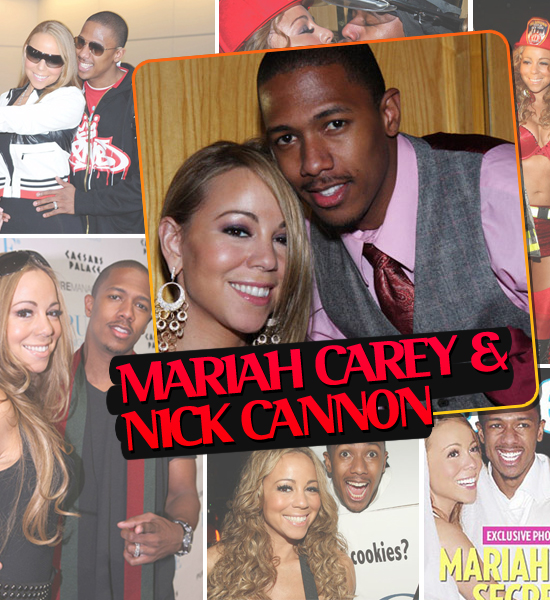 HOTTEST COUPLES OF 2008 - MARIAH CAREY & NICK CANNON