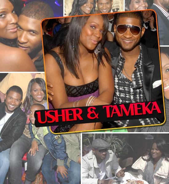 HOTTEST COUPLES OF 2008 - USHER & TAMEKA