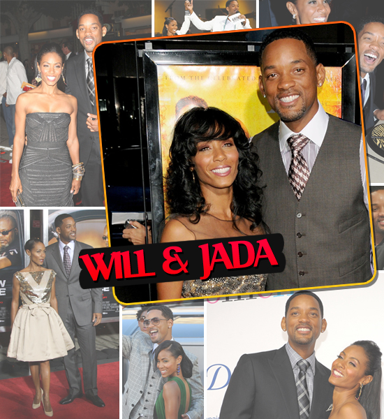 HOTTEST COUPLES OF 2008 - WILL SMITH & JADA PINKETT-SMITH