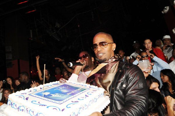 Jamie Foxx Celebrates His 41st Birthday