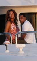 Beyonce and Jay-Z // On Vacation in St. Barts