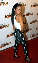 Christina Milian on the red carpet at KIIS FM Jingle Ball 2008.