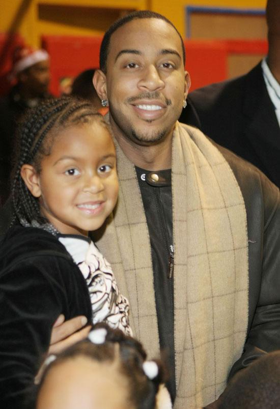 Ludacris and his daughter