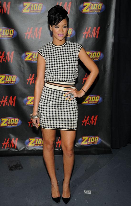 Rihanna // Z100 Jingle Ball 2008 (press room)