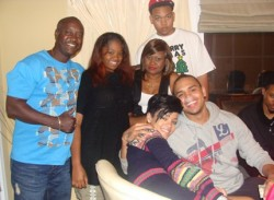Chris Brown and Rihanna in VA