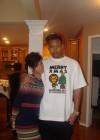 Rihanna and her lil bro' in VA