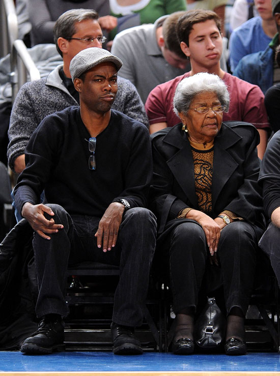 Chris Rock and his grandmother
