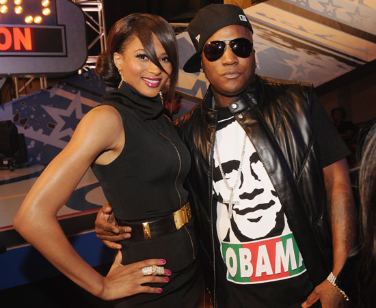 Ciara and Young Jeezy