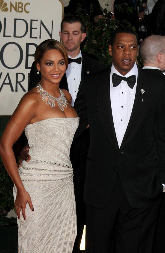 Beyonce & Jay-Z // 2009 Golden Globe Arrivals