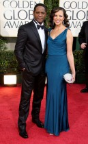 Blair Underwood & Desiree DaCosta // 2009 Golden Globe Arrivals