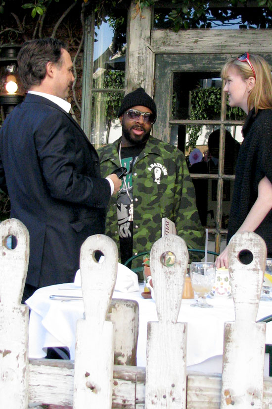 Jermaine Dupri at the Ivy