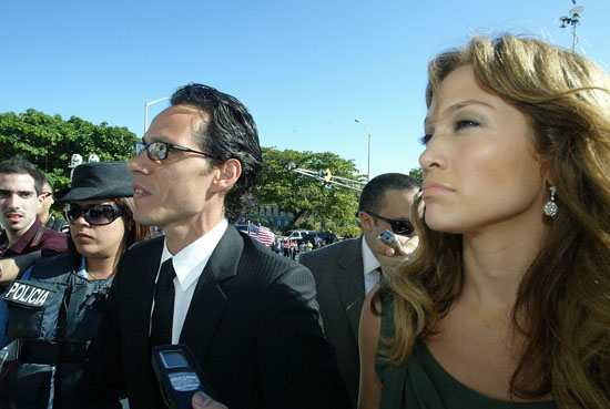 Jennifer Lopez & Marc Anthony // Luis Fortuno Inauguration in Puerto Rico