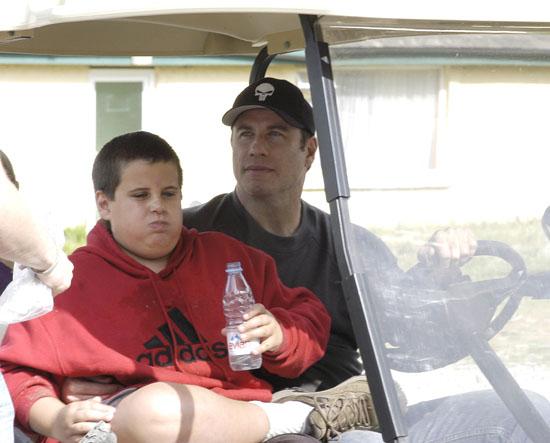 John Travolta and Jett Travolta