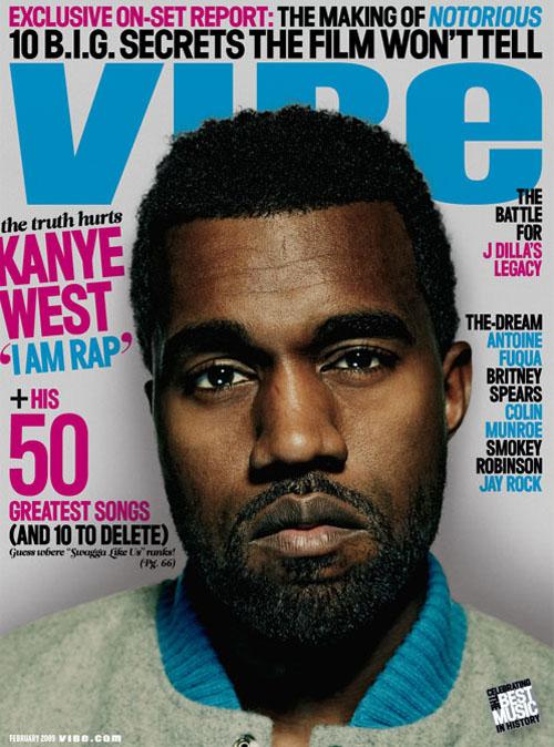 Kanye West Covers Vibe Magazine