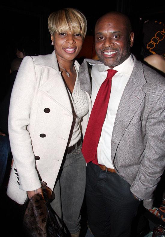 Mary J. Blige & L.A. Reid // Karen Kwak Birthday Party