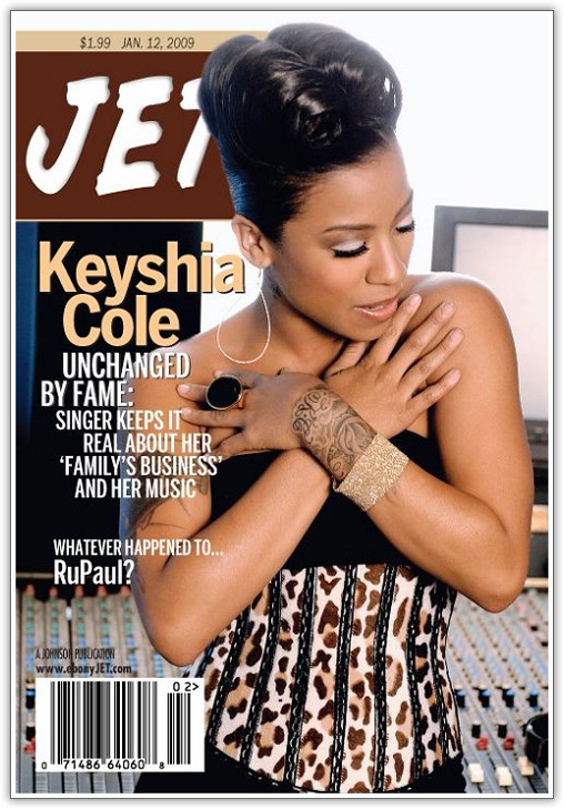 Keyshia Cole Covers JET Magazine