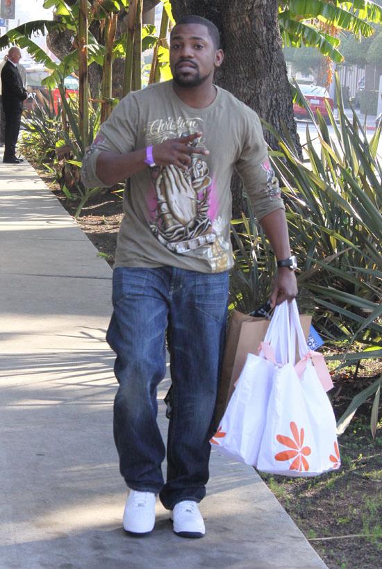 Mekhi Phifer // Shopping in Hollywood