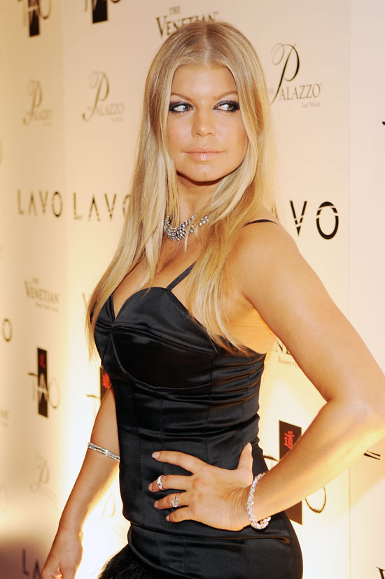 Fergie // New Years Eve 2009 Party in Vegas
