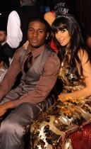 Kim Kardashian & Reggie Bush // New Years Eve 2009 Party at LAX Nightclub in Vegas