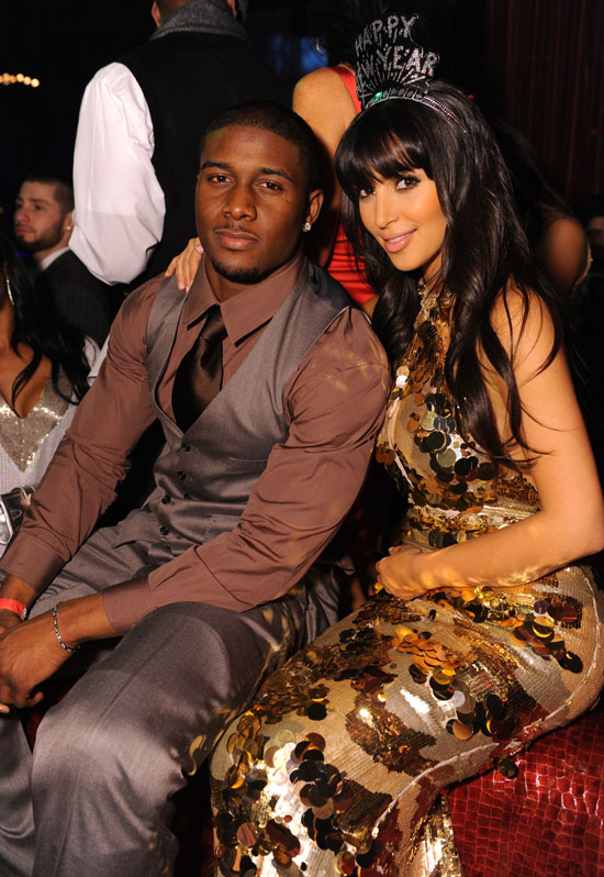Kim Kardashian & Reggie Bush // New Years Eve 2009 Party at LAX Nightclub in Vegas