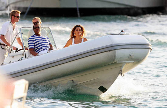 Beyonce & Jay-Z in St. Barth\'s