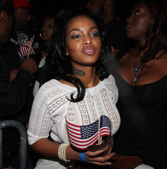 """Angel Lola Luv // Young Jeezy \""""Presidential Status\"""" Inauguration Ball"""