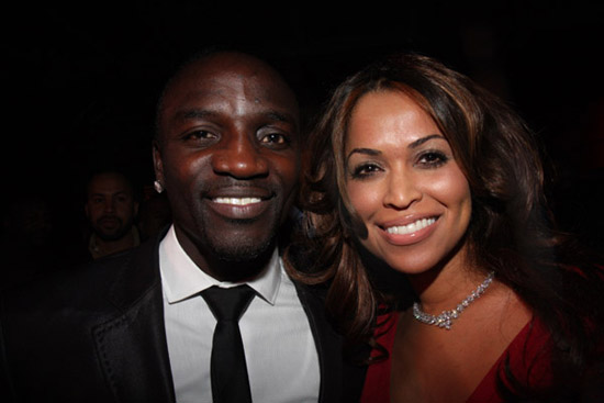 """Akon & Tracey Edmonds // Young Jeezy \""""Presidential Status\"""" Inauguration Ball"""