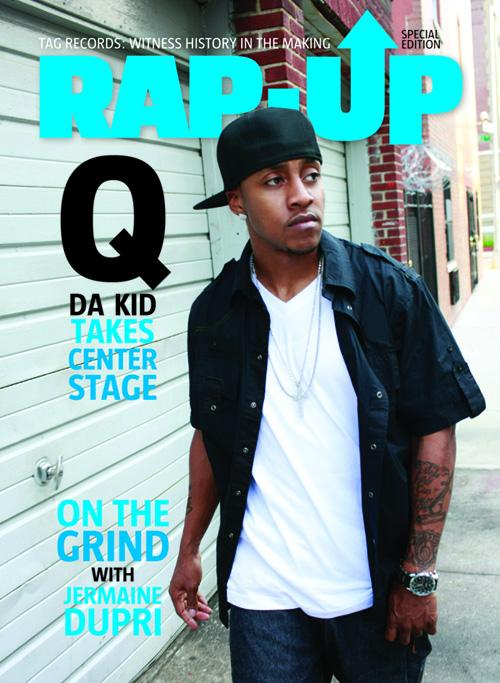q da kid covers rap up magazine