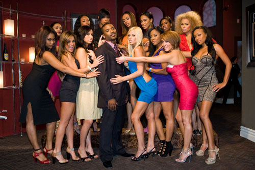 """Ray J and the """"For the Love of Ray J"""" cast"""