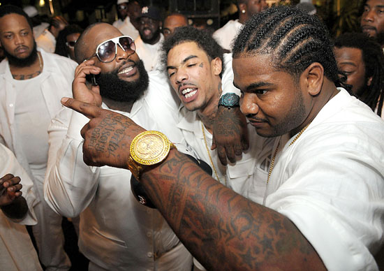 Rick Ross' 32nd Birthday Party at Karu&Y