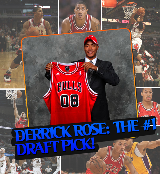 TOP MOMENTS IN SPORTS '08 - DERRICK ROSE: #1 DRAFT PICK