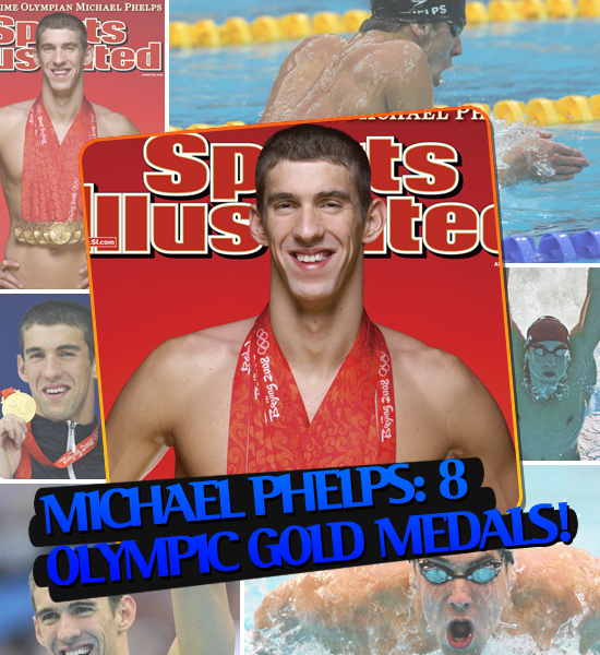 TOP MOMENTS IN SPORTS '08 - MICHAEL PHELPS GETS 8 OLYMPIC GOLD MEDALS