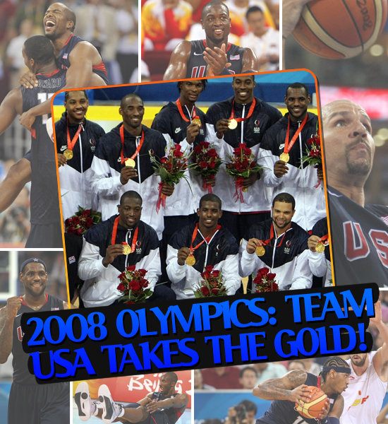 TOP MOMENTS IN SPORTS '08 - TEAM USA (BASKETBALL) TAKES THE OLYMPIC GOLD MEDAL