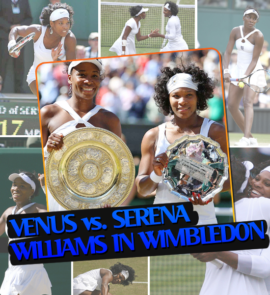 TOP MOMENTS IN SPORTS '08 - VENUS AND SERENA WILLIAMS IN WIMBLEDON