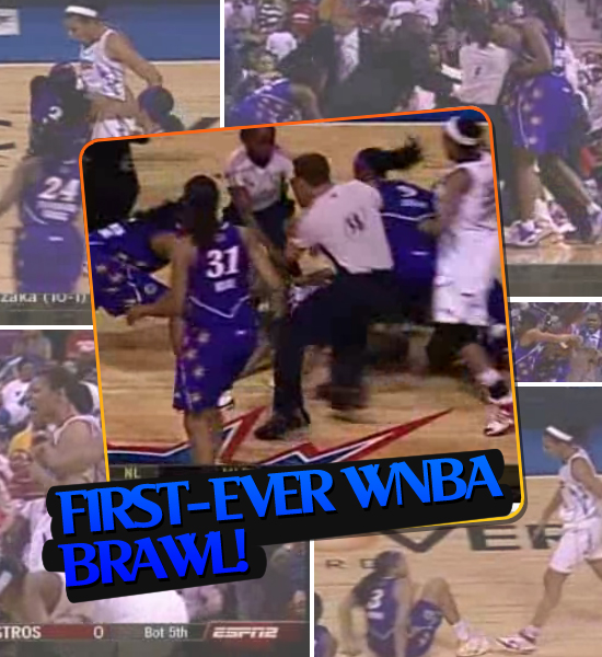 TOP MOMENTS IN SPORTS '08 - FIRST-EVER WNBA BRAWL