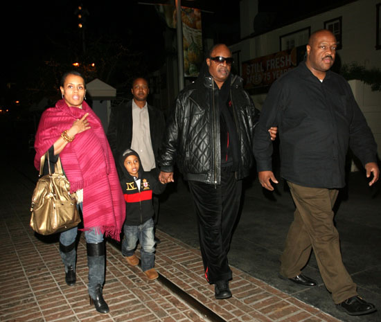 Stevie Wonder // Leaving The Grove in Los Angeles