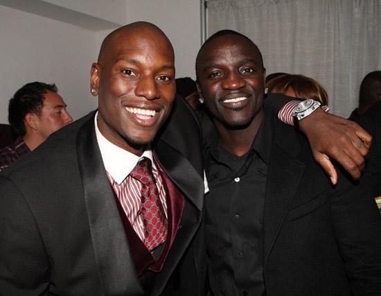 Tyrese & Akon // Tyrese's 30th Birthday at Boulevard 3