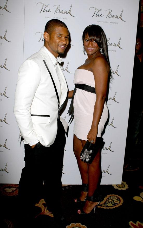 Usher & Tameka