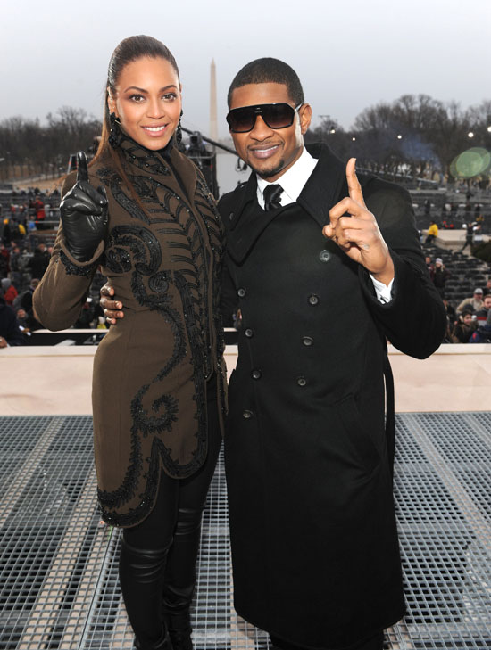 Beyonce and Usher // Obama Inaugural Celebration