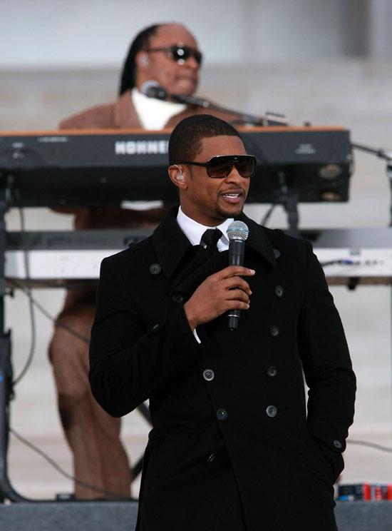 Usher // Obama Inaugural Celebration
