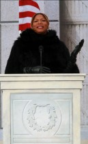 Queen Latifah // Obama Inaugural Celebration