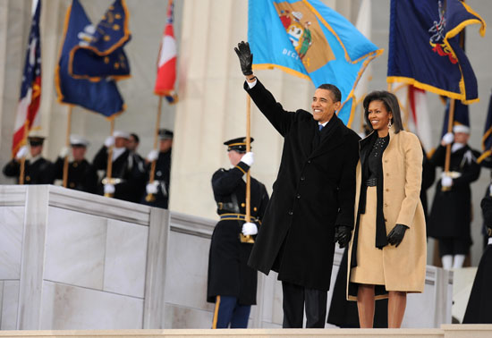 Barack & Michelle Obama // Obama Inaugural Celebration