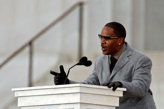 Jamie Foxx // Obama Inaugural Celebration
