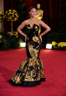 Beyonce // 81st Annual Academy Awards (Oscars) Red Carpet