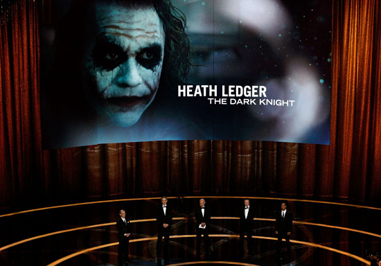 Heath Ledger (winner of Best Support Actor) - R.I.P. // 81st Annual Academy Awards Show