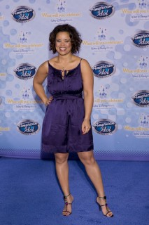 "Kimberly Locke // ""American Idol Experience\"" grand opening at Walt Disney World"