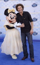 "Justin Guarini // ""American Idol Experience\"" grand opening at Walt Disney World"