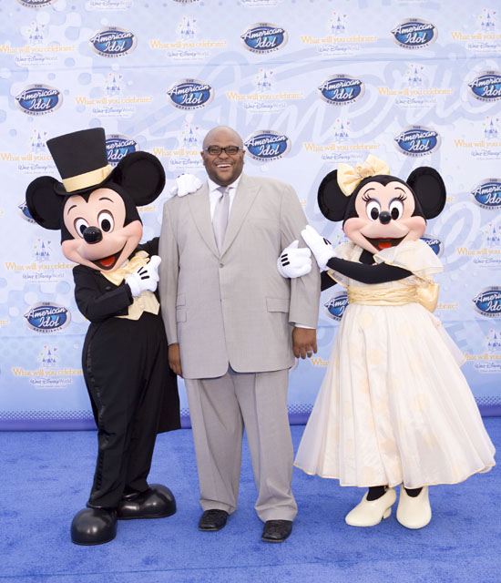 "Ruben Studdard // ""American Idol Experience"" grand opening at Walt Disney World"