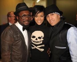 Will.i.am, Rihanna and Taboo // Peapod Foundation Event